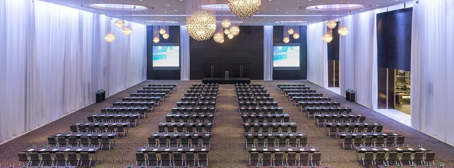 Great Ballroom Theatre Setup