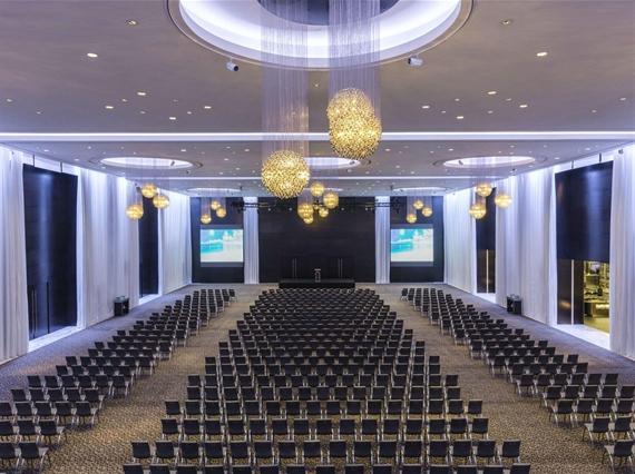 Great Ballroom Theatre Setup